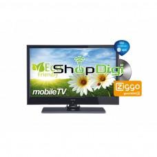 """Akai 22"""" (56cm) Mobile Full HD LED TV met ingebouwde DVD-speler en 12volt"""