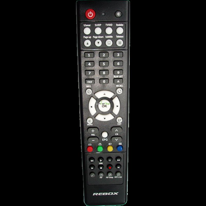 Rebox 4000 serie afstandsbediening