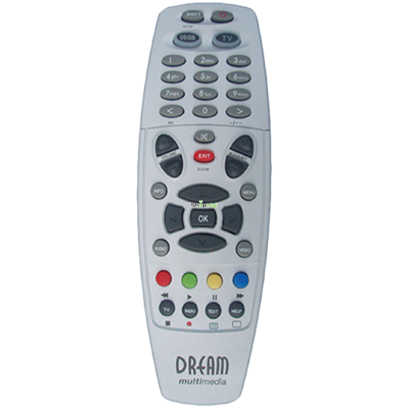 Dreambox DM8000, DM7000, DM800, DM600, DM500HD afstandsbediening